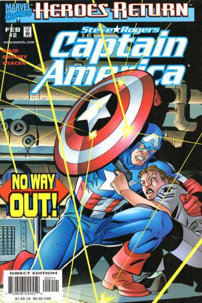 Captain America #2 comic books - cover scans photos Captain America #2 comic books - covers, picture gallery