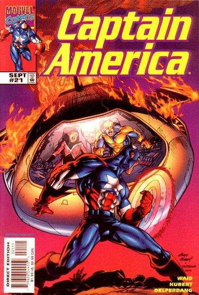 Captain America #21 comic books - cover scans photos Captain America #21 comic books - covers, picture gallery