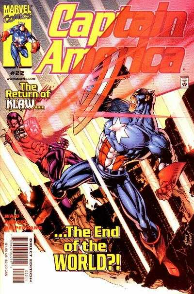 Captain America #22 comic books for sale