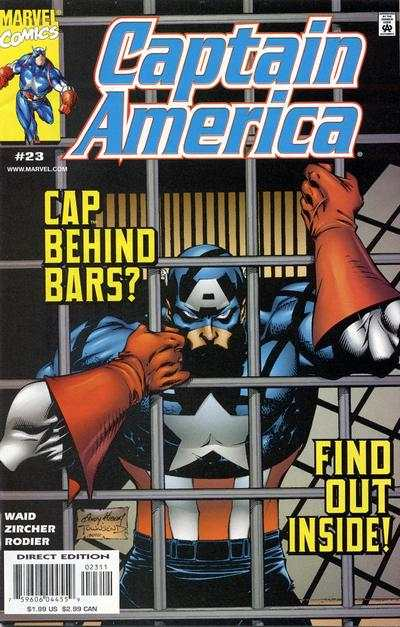 Captain America #23 comic books - cover scans photos Captain America #23 comic books - covers, picture gallery