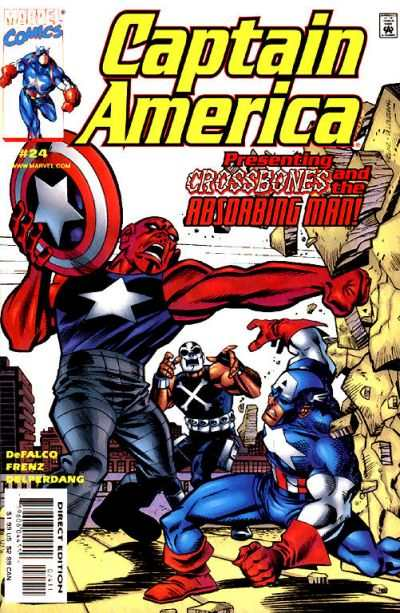 Captain America #24 comic books - cover scans photos Captain America #24 comic books - covers, picture gallery