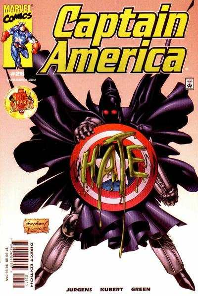 Captain America #26 Comic Books - Covers, Scans, Photos  in Captain America Comic Books - Covers, Scans, Gallery