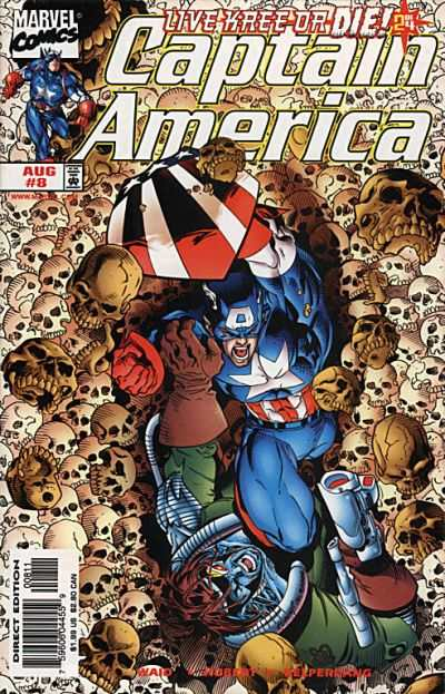 Captain America #8 comic books - cover scans photos Captain America #8 comic books - covers, picture gallery