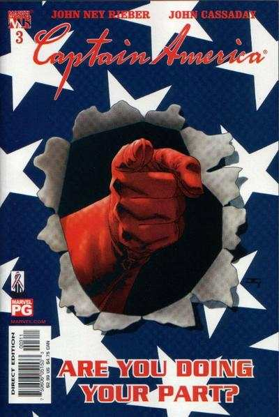Captain America #3 comic books - cover scans photos Captain America #3 comic books - covers, picture gallery