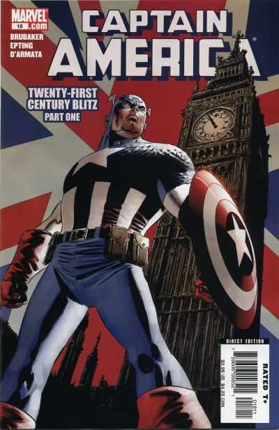 Captain America #18 comic books - cover scans photos Captain America #18 comic books - covers, picture gallery