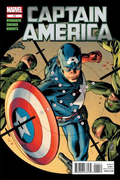 Captain America #11 comic books - cover scans photos Captain America #11 comic books - covers, picture gallery