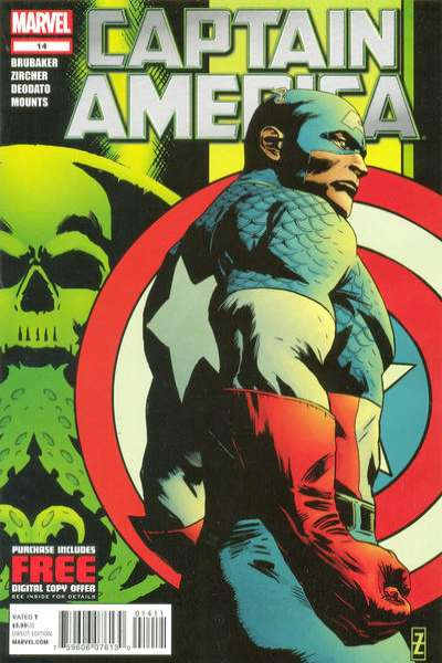 Captain America #14 comic books - cover scans photos Captain America #14 comic books - covers, picture gallery
