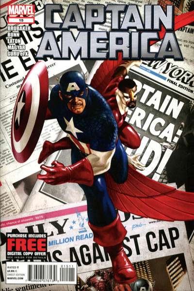 Captain America #15 comic books - cover scans photos Captain America #15 comic books - covers, picture gallery