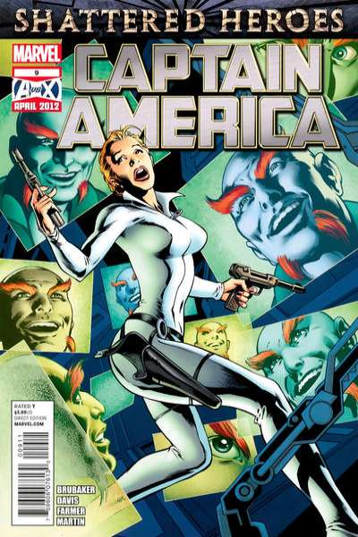 Captain America #9 Comic Books - Covers, Scans, Photos  in Captain America Comic Books - Covers, Scans, Gallery
