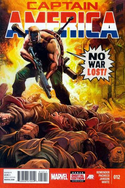Captain America #12 Comic Books - Covers, Scans, Photos  in Captain America Comic Books - Covers, Scans, Gallery
