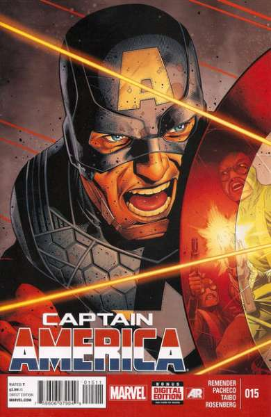 Captain America #15 Comic Books - Covers, Scans, Photos  in Captain America Comic Books - Covers, Scans, Gallery