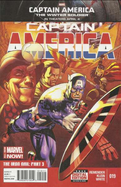 Captain America #19 Comic Books - Covers, Scans, Photos  in Captain America Comic Books - Covers, Scans, Gallery