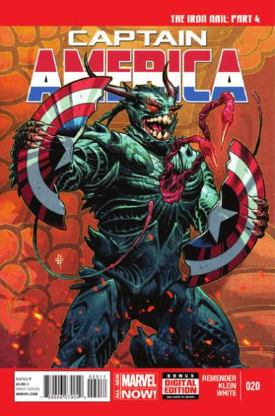 Captain America #20 comic books - cover scans photos Captain America #20 comic books - covers, picture gallery