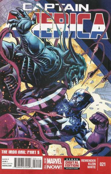 Captain America #21 comic books for sale