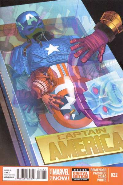 Captain America #22 comic books - cover scans photos Captain America #22 comic books - covers, picture gallery