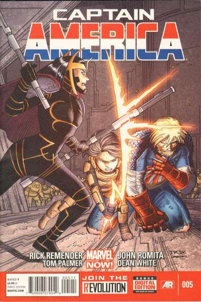 Captain America #5 Comic Books - Covers, Scans, Photos  in Captain America Comic Books - Covers, Scans, Gallery