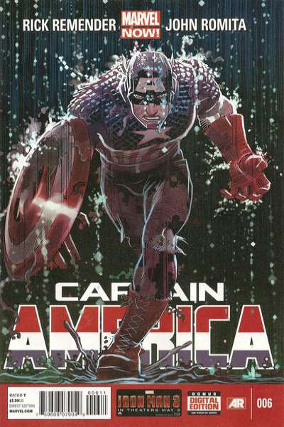 Captain America #6 comic books for sale