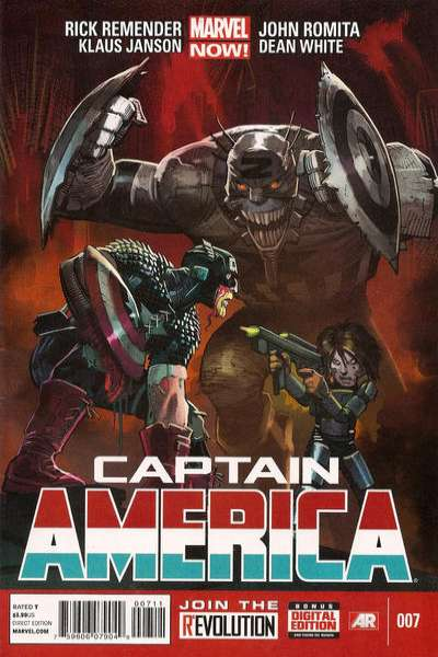 Captain America #7 Comic Books - Covers, Scans, Photos  in Captain America Comic Books - Covers, Scans, Gallery