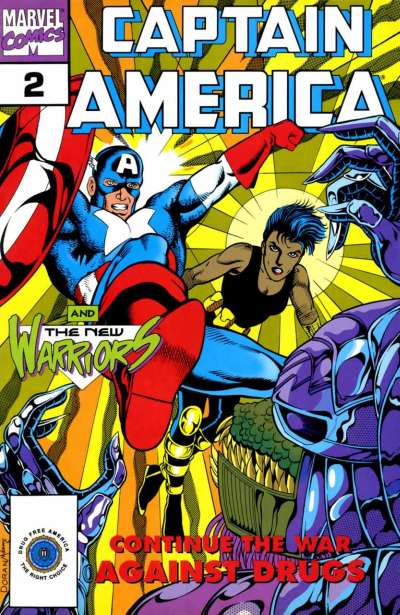 Captain America Goes to War Against Drugs #2 comic books for sale