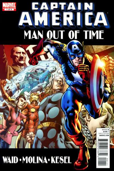 Captain America: Man Out of Time #1 comic books - cover scans photos Captain America: Man Out of Time #1 comic books - covers, picture gallery