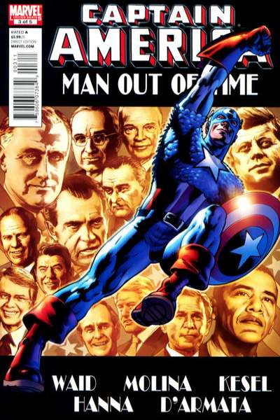Captain America: Man Out of Time #3 comic books - cover scans photos Captain America: Man Out of Time #3 comic books - covers, picture gallery