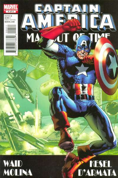 Captain America: Man Out of Time #4 comic books - cover scans photos Captain America: Man Out of Time #4 comic books - covers, picture gallery