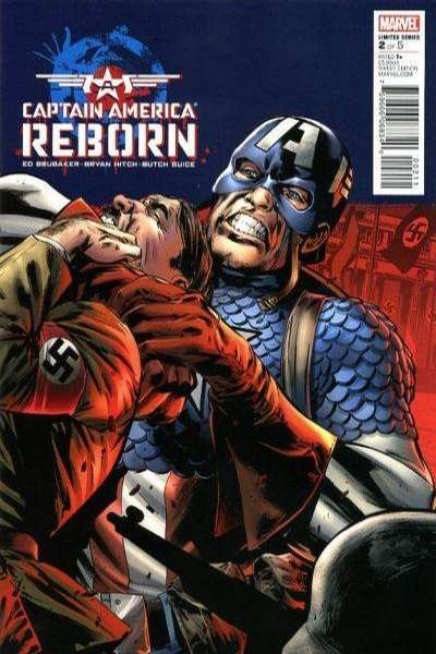 Captain America: Reborn #2 comic books - cover scans photos Captain America: Reborn #2 comic books - covers, picture gallery
