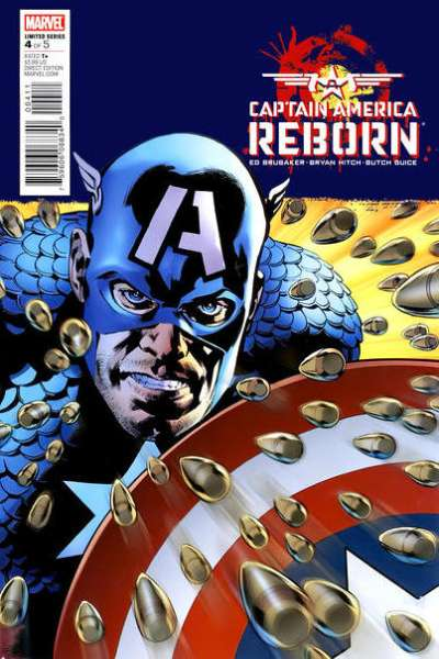 Captain America: Reborn #4 comic books - cover scans photos Captain America: Reborn #4 comic books - covers, picture gallery