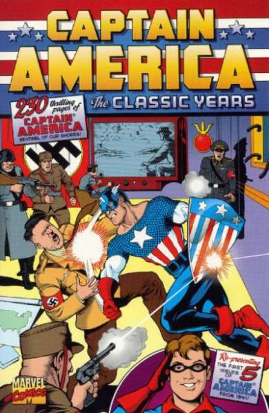 Captain America: The Classic Years Comic Books. Captain America: The Classic Years Comics.