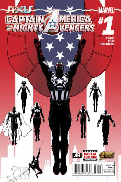 Captain America & The Mighty Avengers Comic Books. Captain America & The Mighty Avengers Comics.