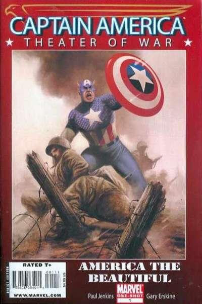 Captain America: Theater of War: America the Beautiful comic books