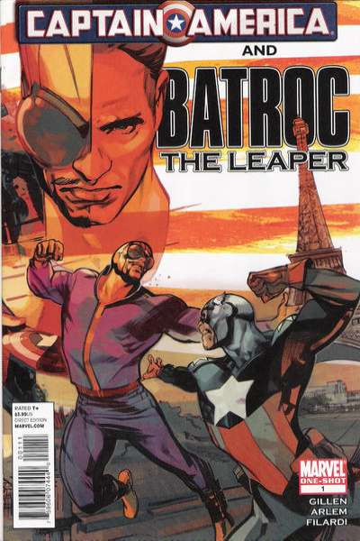 Captain America and Batroc the Leaper #1 comic books - cover scans photos Captain America and Batroc the Leaper #1 comic books - covers, picture gallery