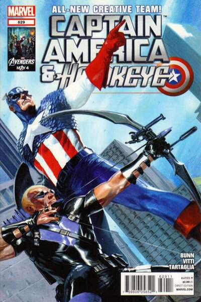 Captain America and Hawkeye #629 comic books for sale