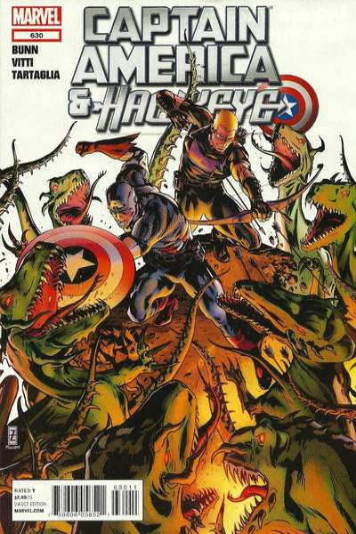 Captain America and Hawkeye #630 comic books - cover scans photos Captain America and Hawkeye #630 comic books - covers, picture gallery