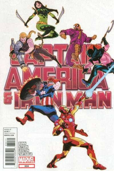 Captain America and Iron Man #634 comic books for sale
