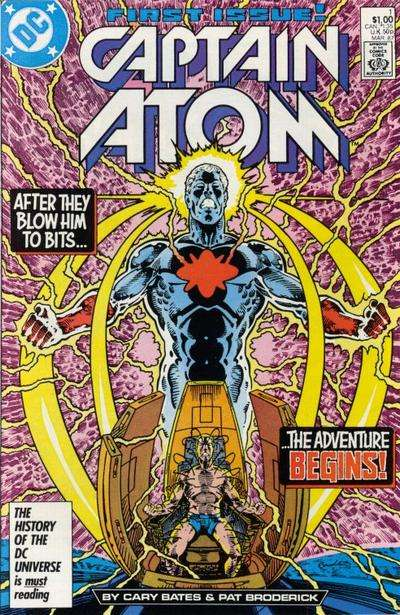 Captain Atom comic books
