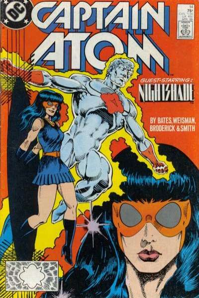 Captain Atom #14 comic books for sale