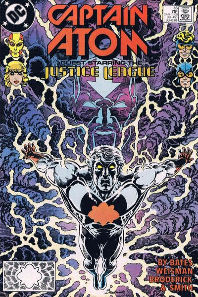 Captain Atom #16 Comic Books - Covers, Scans, Photos  in Captain Atom Comic Books - Covers, Scans, Gallery
