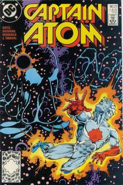 Captain Atom #23 Comic Books - Covers, Scans, Photos  in Captain Atom Comic Books - Covers, Scans, Gallery