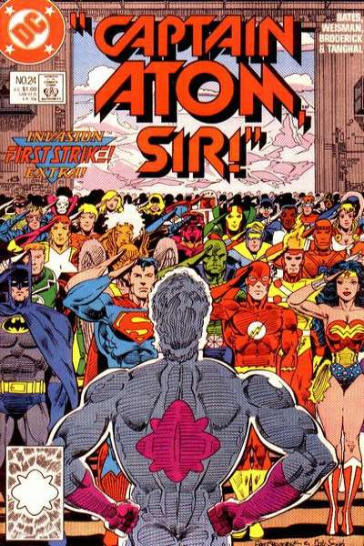 Captain Atom #24 Comic Books - Covers, Scans, Photos  in Captain Atom Comic Books - Covers, Scans, Gallery