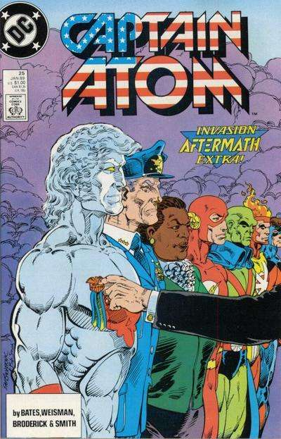 Captain Atom #25 Comic Books - Covers, Scans, Photos  in Captain Atom Comic Books - Covers, Scans, Gallery