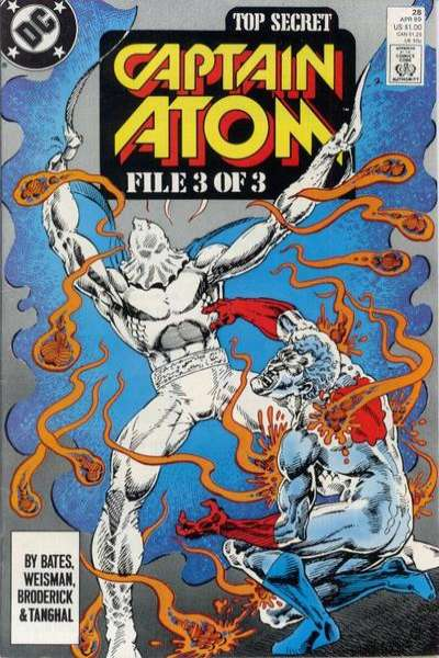 Captain Atom #28 comic books for sale