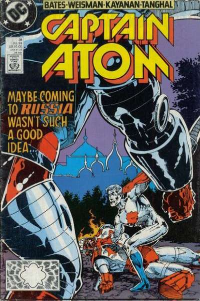 Captain Atom #31 comic books for sale