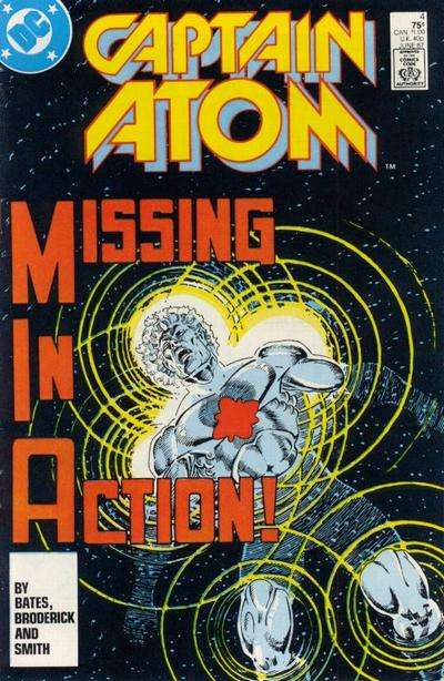 Captain Atom #4 comic books for sale