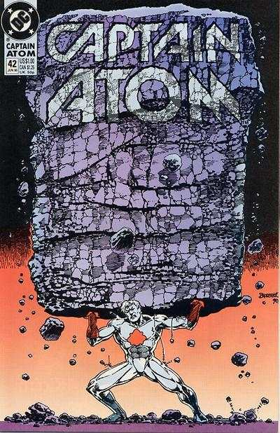 Captain Atom #42 comic books - cover scans photos Captain Atom #42 comic books - covers, picture gallery