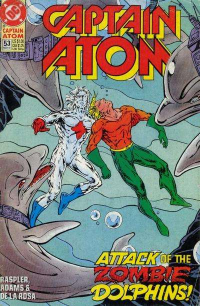 Captain Atom #53 comic books for sale