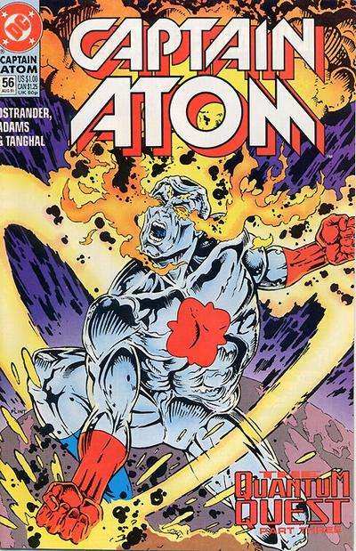Captain Atom #56 comic books for sale