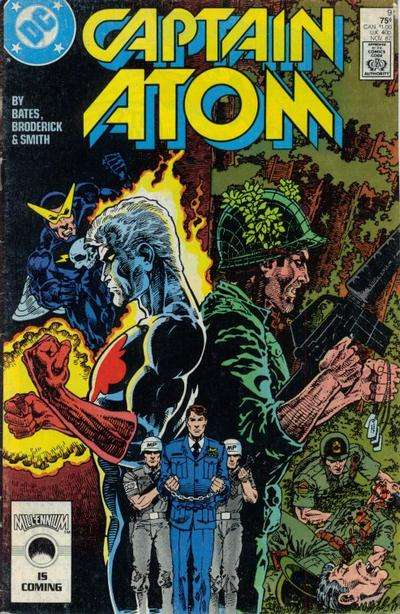 Captain Atom #9 comic books for sale