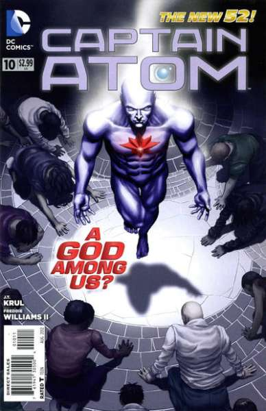 Captain Atom #10 Comic Books - Covers, Scans, Photos  in Captain Atom Comic Books - Covers, Scans, Gallery