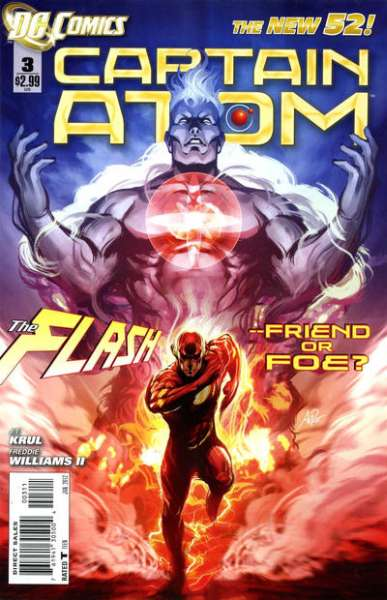 Captain Atom #3 comic books - cover scans photos Captain Atom #3 comic books - covers, picture gallery